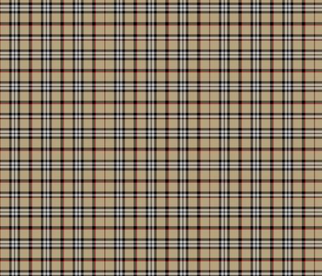 Londoner Plaid fabric by theartwerks on Spoonflower - custom fabric
