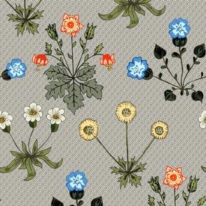 flower ancien  pattern