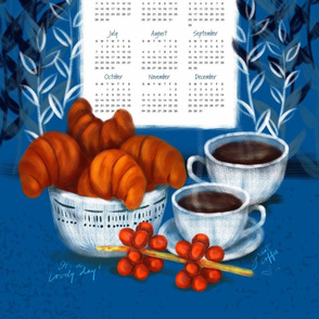 Coffee Tea Towel Calendar 2019