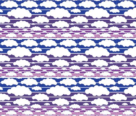 Twilight Skies fabric by georgia_pea_davis on Spoonflower - custom fabric