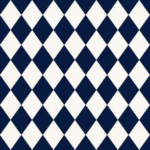 Harlequin Diamonds // Navy