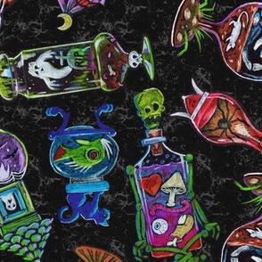 ApotheScary Jars - Halloween Lab