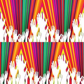 We Are One Hand Rainbow