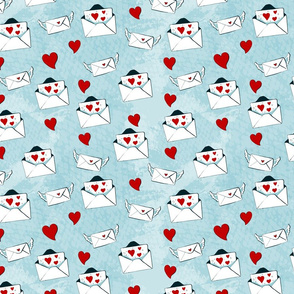 Seamless pattern for Valentine s Day, or the day of Weddings with elements in sketch style