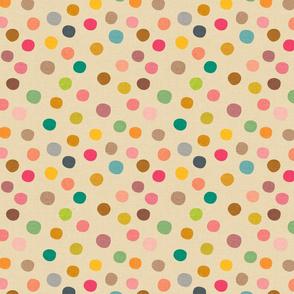 Mid Century Polka Dots - medium