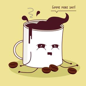 Coffee Mug Addicted To Coffee