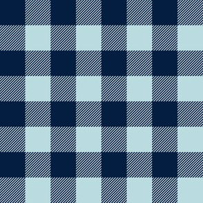 navy and blue plaid coordinate - firefighter wholecloth - patchwork - navy and blue plaid -  coordinate to navy and grey - future firefighter grey