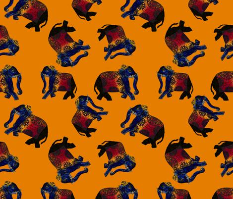 elefant2 fabric by avot_art on Spoonflower - custom fabric