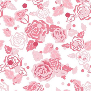 Roses soft pink