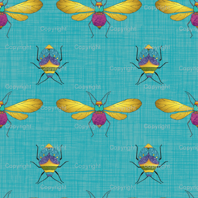 Dragonflies & Beetles