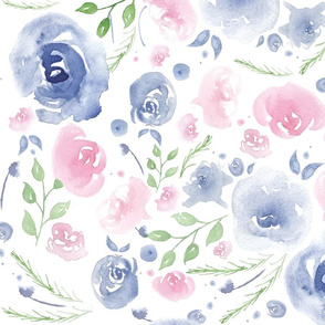 Pretty Watercolor Floral