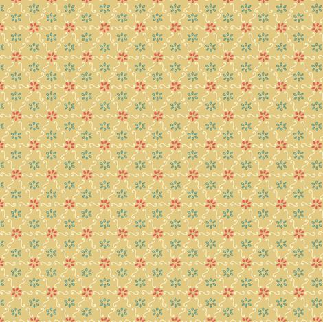 Vintage Geometric fabric by moonpuff on Spoonflower - custom fabric