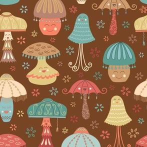Fancy Mushroom Lamps