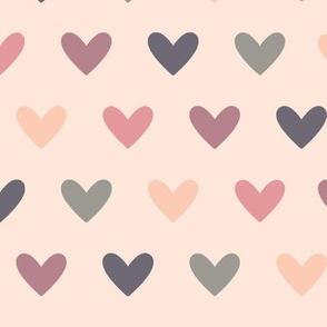 Sunset - Heart Pattern