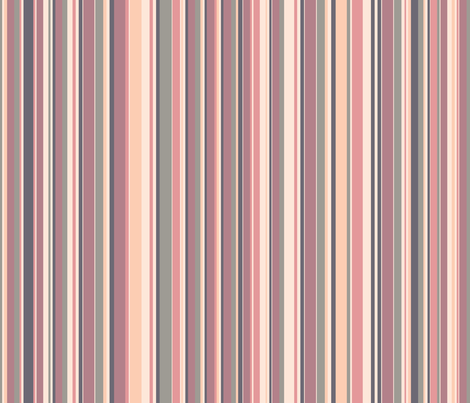 Sunset - Striped Pattern fabric by silveroakdesign on Spoonflower - custom fabric