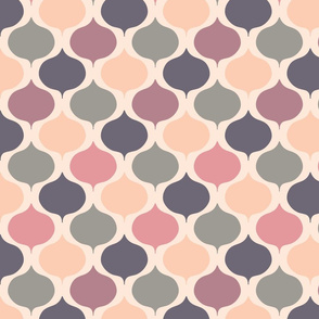 Sunset - Retro Pattern