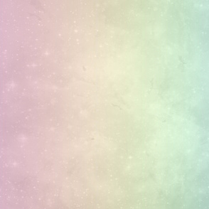 rainbow pastel ombre galaxy