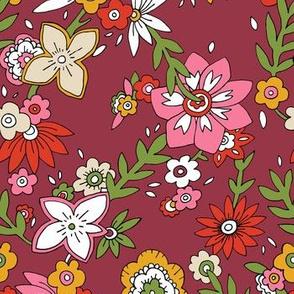 60s Floral - Wild Flower