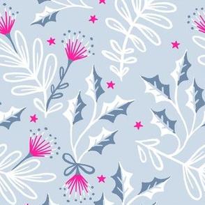Festive Pohutukawa - Silver Pink