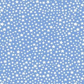 Stars - mid blue