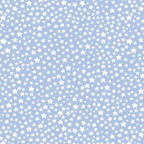 Stars - pale blue