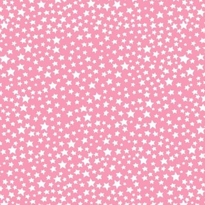 Stars - pale pink