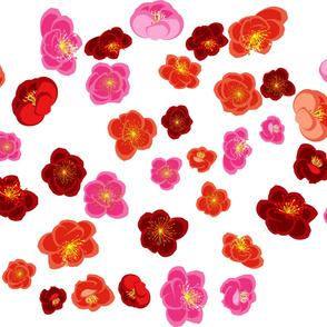 Quince flower design