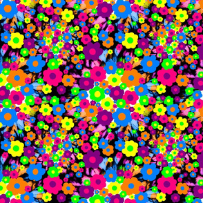 1960's Flower Confetti Bombs!