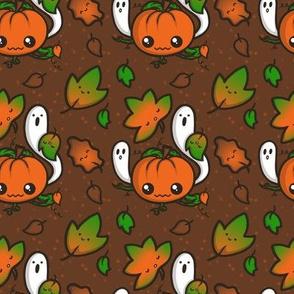 Autumn Pumpkin Halloween Pattern
