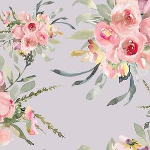 """12"""" Selena Floral Bouquets // Lola Lavender"""