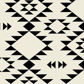 Navajo - Ivory Black