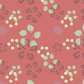 Flowerleaves Red
