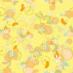 Mediterranean Mandarines Yellow