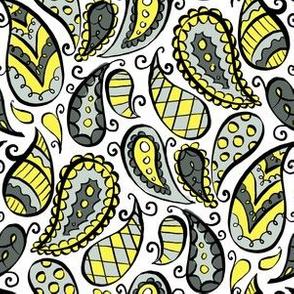lemon paisley