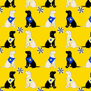 dogsflowerYELLOW