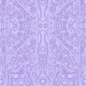 Simple Lavender Lines #7909761