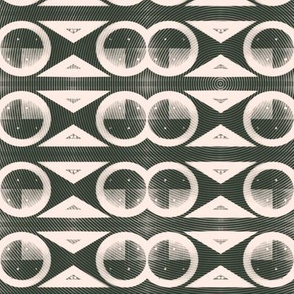 Mid-Century Modern Graphic Design Pattern