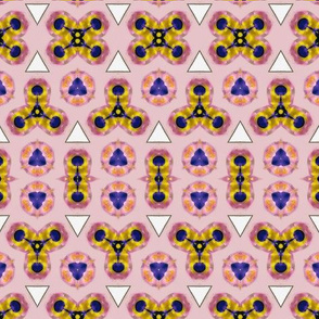 Abstract  Pink Acrylic Pattern