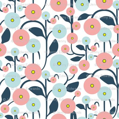 Spring Harmony - Climbing Flowers