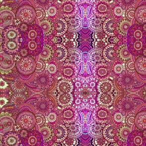 Extreme doodle pinks circles