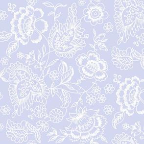 Kashmir Toile blue violet 2