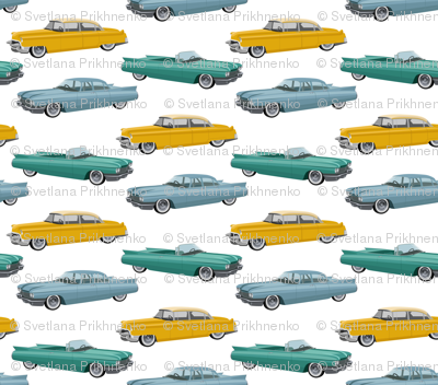 cars of 50s (small scale)