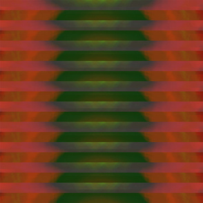 Green and Pink Abstraction