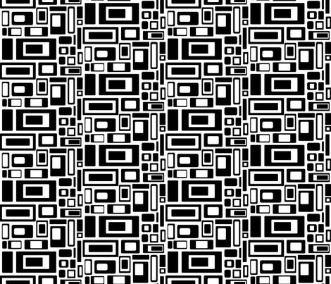 Retro Blast Small fabric by artsytoocreations on Spoonflower - custom fabric