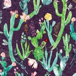 Cactus Garden (plum)
