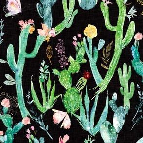 Cactus Garden (black)
