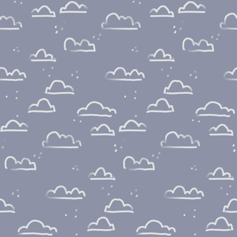 Hazy_Clouds fabric by jtof on Spoonflower - custom fabric