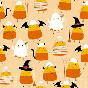 Candy Corn Characters, Halloween Characters, cute Halloween