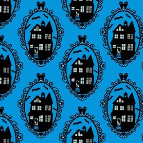 Hauntedly Ever After in Blue