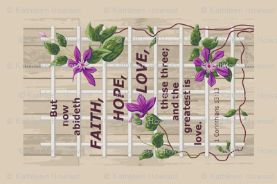 lattice clematis faith hope love resized h
